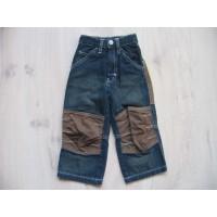 Kids spijkerbroek donkerblauw mt 92