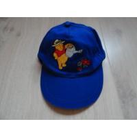 Winnie de Poeh kobaltblauwe pet/ cap