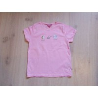 Fransa Girls T-shirt roze mt 128-134