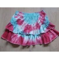 New Basic batik wijd rokje mt 134