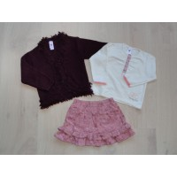 "Baby Club 3 dlg set ""lovely girl"" mt 80"