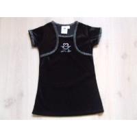 Palomino jurkje zwart velours mt 92