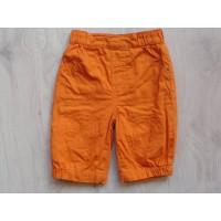 Oranje gevoerd broekje mt 62