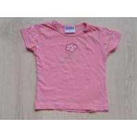 """Topolino roze t-shirt """"bloemen"""" mt 98"""