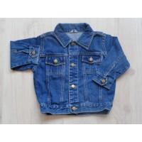 Basic blauwe spijkerjas mt 80