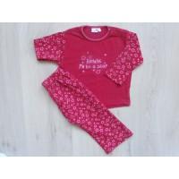 """Prénatal pyjama rood """"sterren"""" mt 80"""