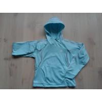 Adidas sweatshirt ijsblauw mt 152
