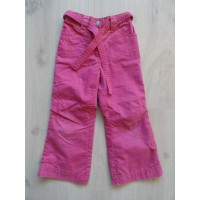 Palomino roze gevoerde broek mt 104