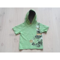 "Palomino groen hooded t-shirt ""safari, jungle"" mt 92"