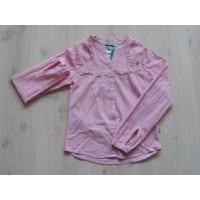 LCKR rood/ wit gestreepte blouse mt 146 - 152