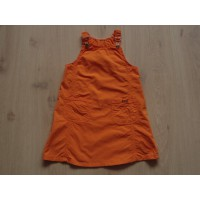 Valys jurk oranje maat 104