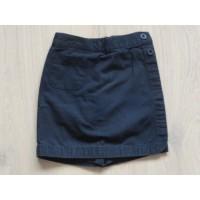 """Esprit navyblauwe korte broek """"overslag"""" mt 98"""