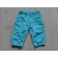 H&M capribroek aquablauw maat 104