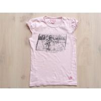 """LCKR lichtroze T-shirt """"meisje in tuin"""" mt 158 - 164"""