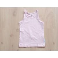H&M LOGG singlet roze basic maat 134