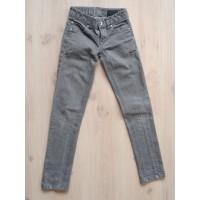 Outfitters Nation grijze skinny spijkerbroek mt 140