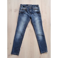 Cars Jeans donkere spijkerbroek mt 152
