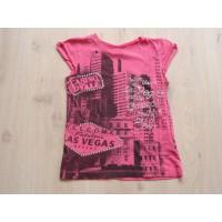 Queen Sixteen T-shirt roze Las Vegas maat 152
