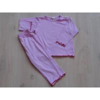 "Hema roze pyjama ""witte stippen"" mt 86 - 92"