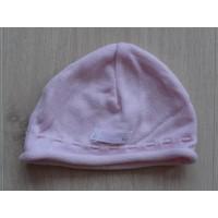 Miniman roze gehaakt babymutsje 41 cm