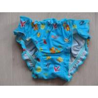 """Shiwi azuurblauw zwembroekje """"printjes"""" mt 80"""