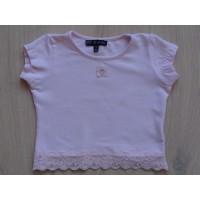 Lili Gaufrette lichtroze kort t-shirt mt 92
