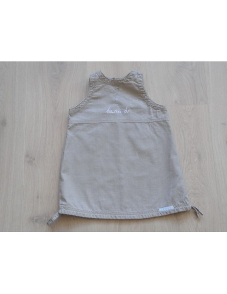 Beau Bo taupe jurk/ tuniek mt 92