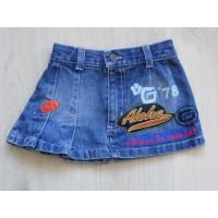 """PiomBino spijkerrok """"hawaii"""" mt 92"""