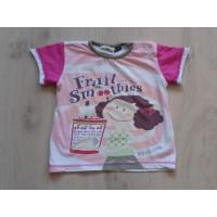Villa Happ t-shirt roze wit...