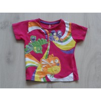 Girls T-shirt  fuchsiaroze...
