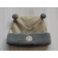 H&M muts fleece bruin/ grijs Beertje Paddington mt 74 - 80