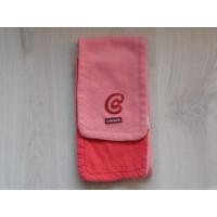 Cakewalk sjaal fleece peachkleurig 117 cm