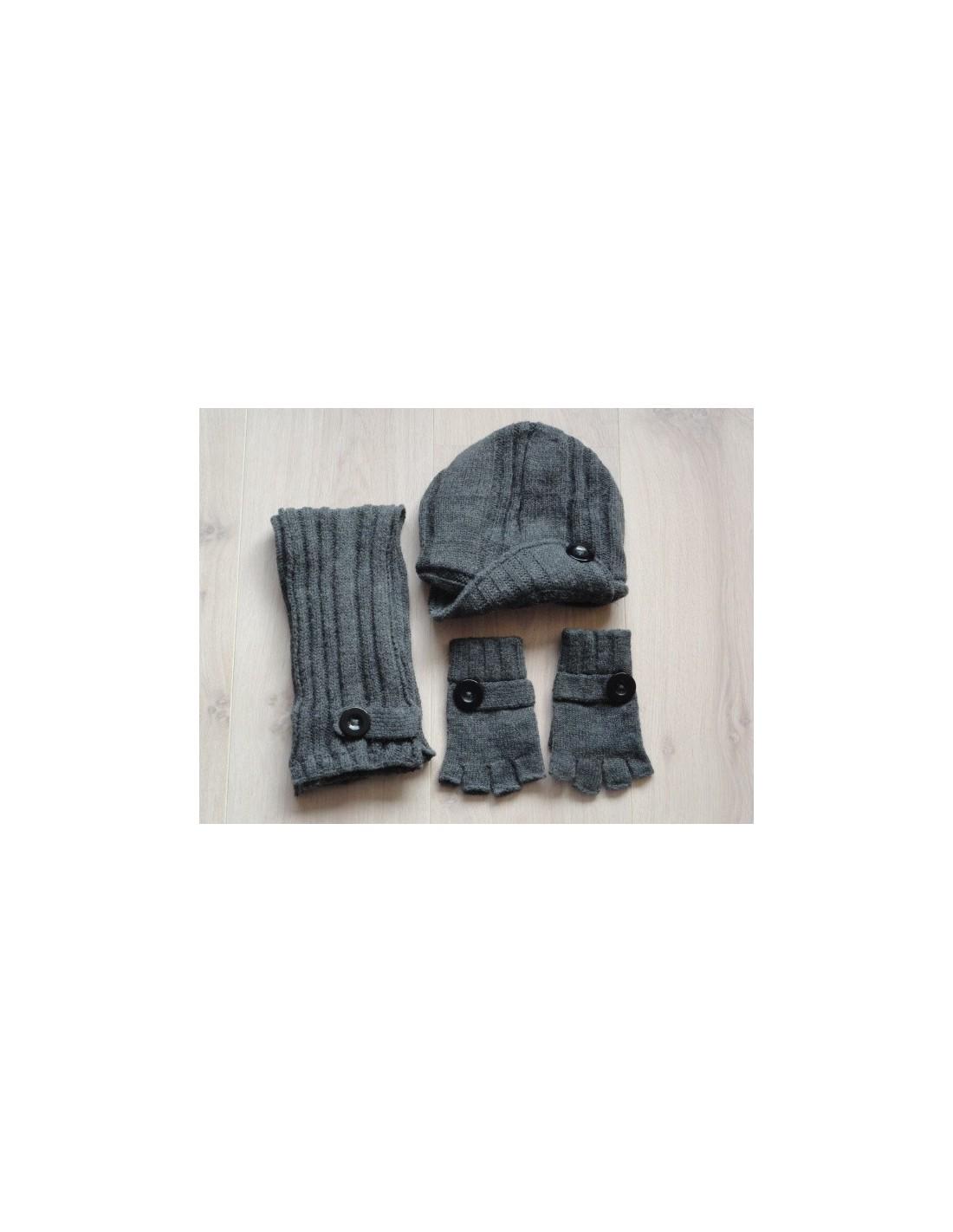 Goedkope sjaal muts handschoenen jongens, voor de koude, Sjaal, muts ...