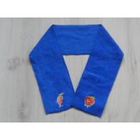 "Olvarit baby sjaal kobaltblauw ""aardbei, wortel"" 90 cm"
