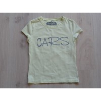 "Cars Jeans T-shirt zachtgeel ""Cars"" mt 152"