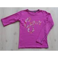 """Gsus longsleeve donker roze """"Gsus"""" mt 146/ 152"""