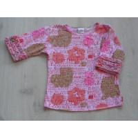 """Oilily t-shirt roze """"tekst/ dier silhouet"""" mt 128"""