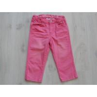 H&M capri spijkerbroek roze mt 128