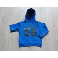 Europe Kids hoodie sweater kobaltblauw League 58 maat 110 - 116