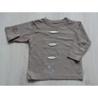 Carbone sweater bruin / beige maat 92