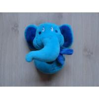 Tiamo knuffel rammelaar Ollie Olifant blauw