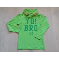 Europe Kids longsleeve groen met col Yo Bro maat 122 - 128