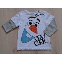 Disney Frozen longsleeve Olaf maat 110 - 116 NIEUW