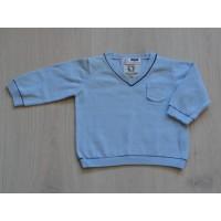 Zara Baby sweater V-hals lichtblauw maat 74
