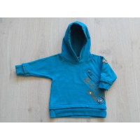 Ducky Beau sweater Petrol hoodie Outdoor Action maat 74