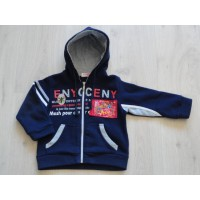 DEYI Marvel sweatvest Spiderman donkerblauw maat 104