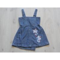 Cakewalk jurk jeans bloemen maat 116