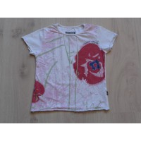 Eager Beaver t-shirt off white Oosterse print maat 116