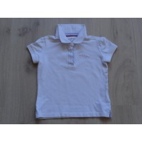 Tommy Hilfiger polo shirt wit strass maat 116