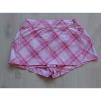 H&M korte broek roze overslag maat 116